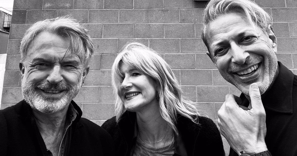 Le Trio Original De Jurassic Park Se Réunit Dans Le