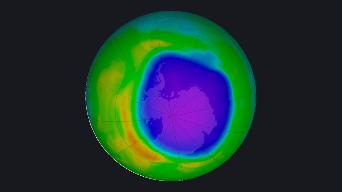 Le Trou D'ozone Au Dessus De L'antarctique Est Devenu Beaucoup Plus