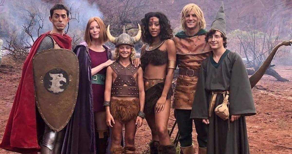 L'émission De Télévision En Direct Dungeons & Dragons Est En