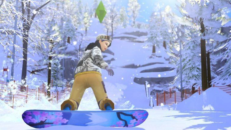 Les Sims 4: Off To Snow Paradise Montre Les Sports
