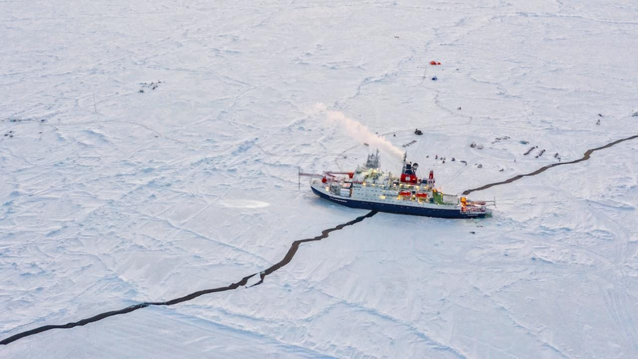Les Archives Montrent Que La Glace De Mer Arctique En