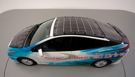 Prototype solaire Toyota Priu