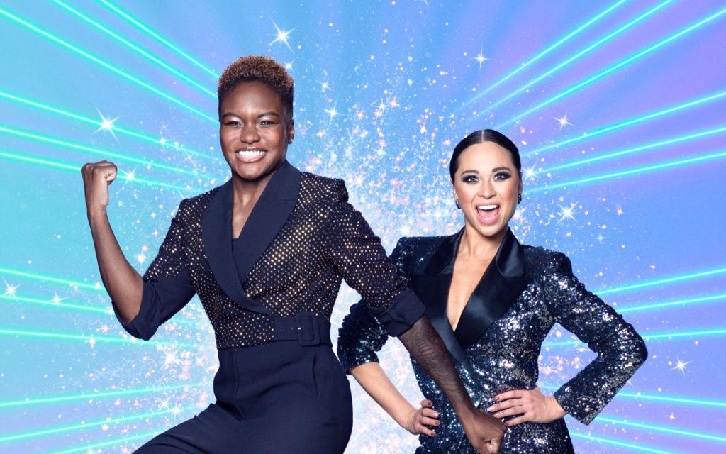 Nicola Adams (L) et son partenaire Strictly Come Dancing, Katya Jones. (Strictly Come Dancing / BBC)