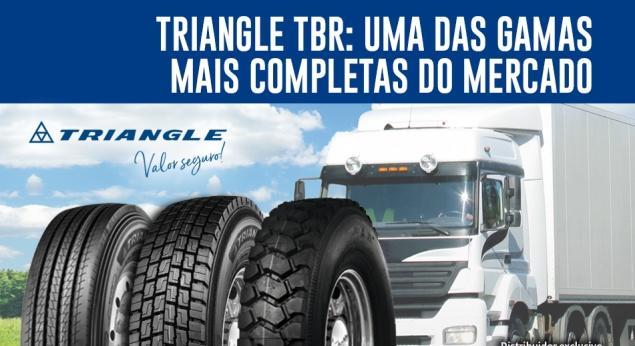 Les Pneus De Camion Triangle Sont Bien Acceptés Sur Le
