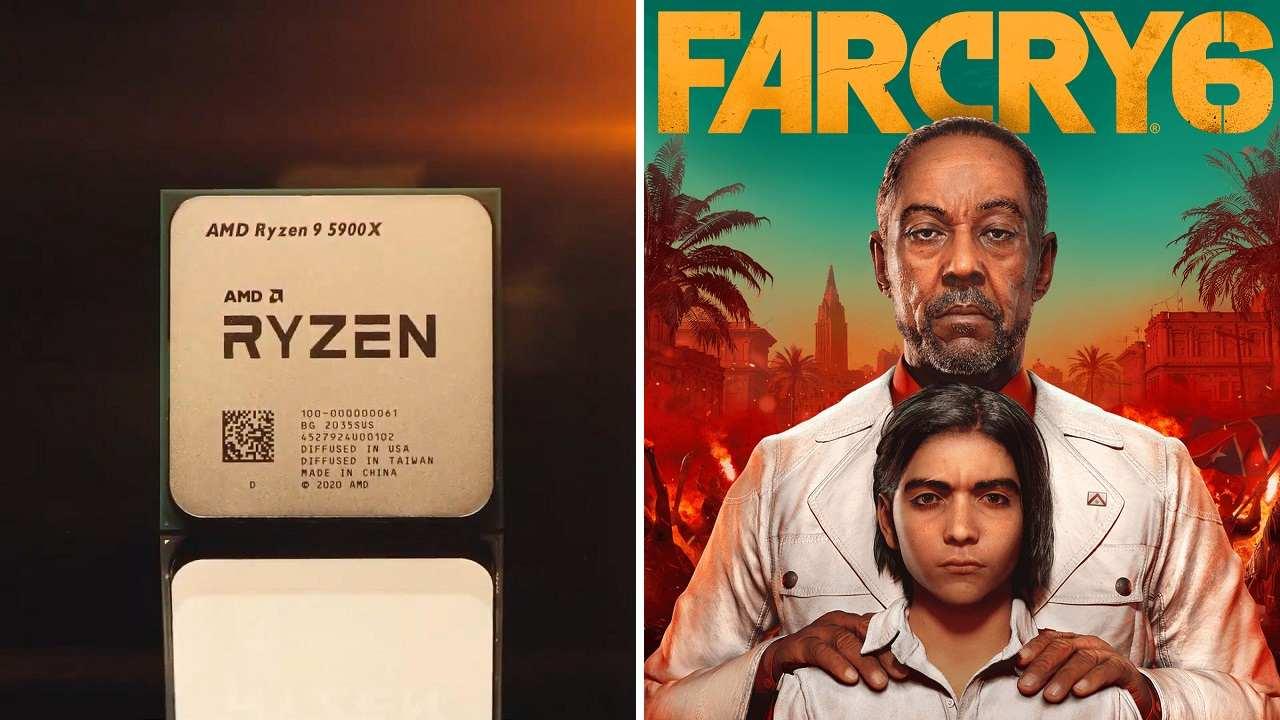 Les processeurs AMD Ryzen 5000 seront livrés avec une copie gratuite de Far Cry 6 à partir du 5 novembre