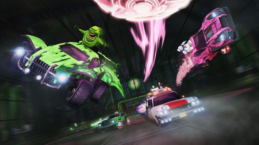 Crossover Ghostbusters de la Rocket League