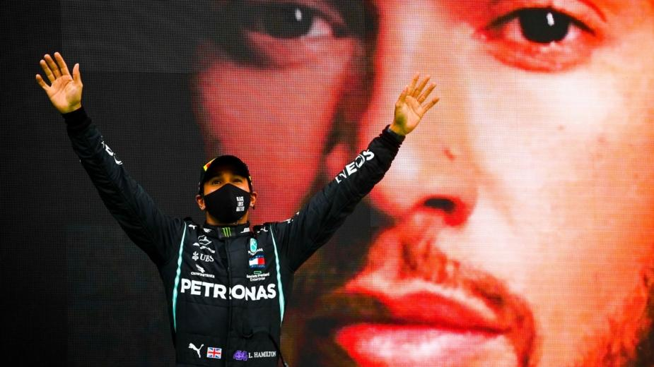 Lewis Hamilton Entre Dans L'histoire Au Gp Du Portugal. C'est
