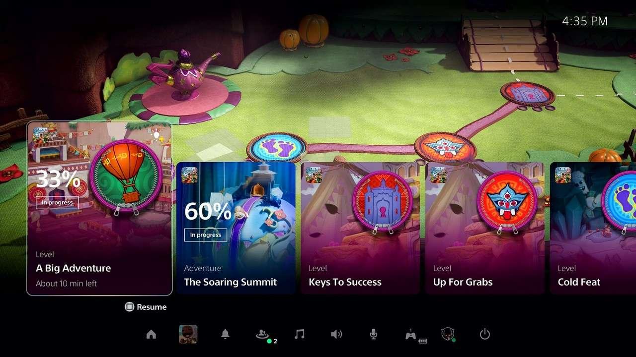 L'interface Utilisateur Repensée De Sony Playstation 5 Révélée: Tout Ce