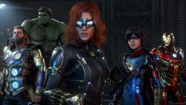 Marvel's Avengers Annonce De Nouvelles Récompenses Gratuites Et Des Améliorations
