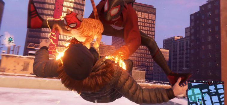 Marvel's Spider Man: Miles Morales Révèle Spider Cat Dans Un Nouveau Costume