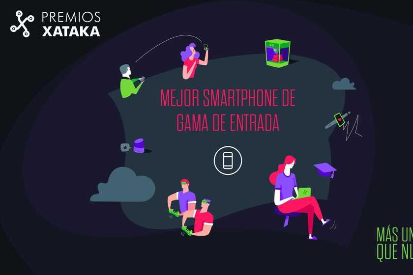 Meilleur smartphone d'entrée de gamme: votez aux Xataka Awards