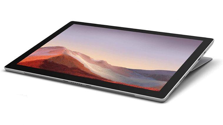 Microsoft Surface Pro 7 Au Meilleur Prix Sur Amazon Prime