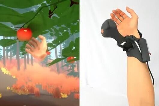 Microsoft veut enfin mettre la main sur la réalité virtuelle: c'est son Haptic Pivot, une commande pour y parvenir