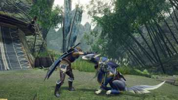 Monster Hunter Rise Brille Dans Un Nouveau Gameplay Axé Sur