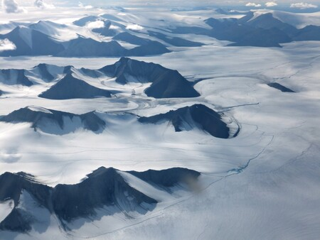 Calotte glaciaire d'Agassiz