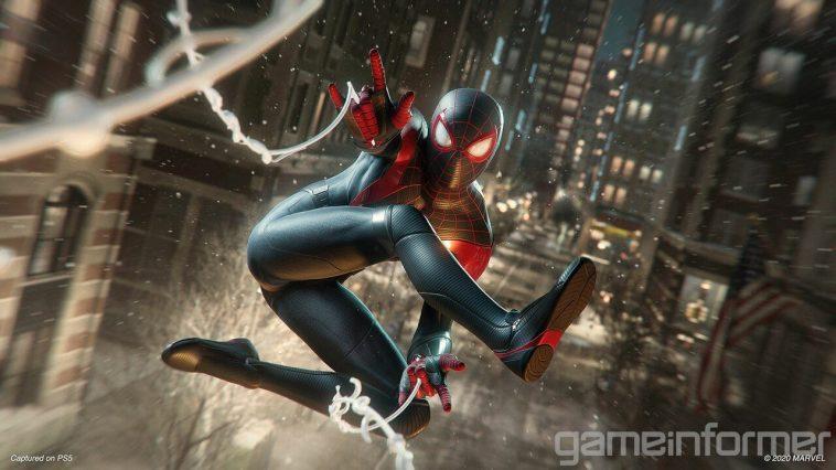 Nouveau Spider Man: Le Gameplay De Miles Morales Sur Ps5 Montre