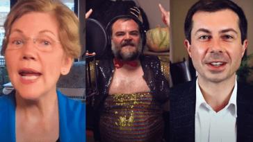 Pete Buttigieg Et Elizabeth Warren Font Le 'time Warp' Avec