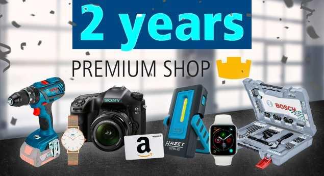 Pièces De Rechange Dt. Premium Shop Fête Son Deuxième Anniversaire