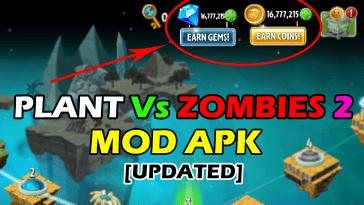 Plants Vs Zombies 2 Mod Apk: Pièces Gratuites Et Beaucoup