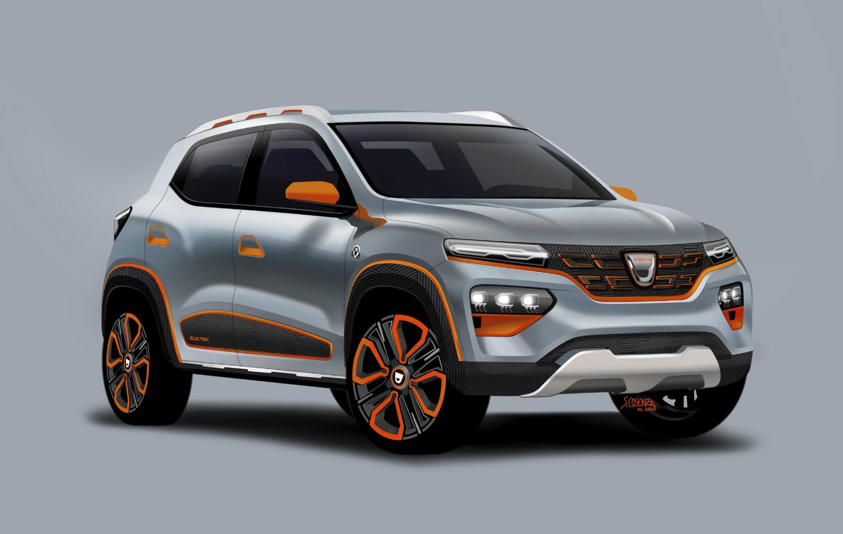 Le show car Dacia Spring EV