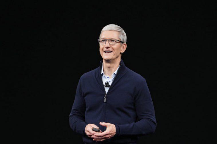 Présentation Iphone 12: La Keynote Apple Dans Le Téléscripteur En