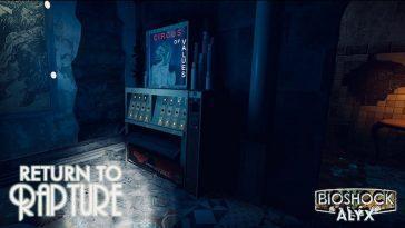 Rapture De Bioshock Arrive à Half Life: Alyx à Travers Ce