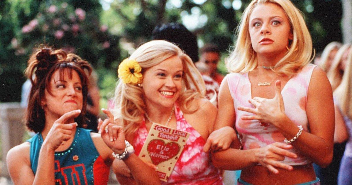 Reese Witherspoon Taquine La Réunion Des Acteurs Légalement Blonde Du
