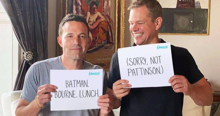 Regardez Comme Matt Damon Se Moque De Ben Affleck Pour