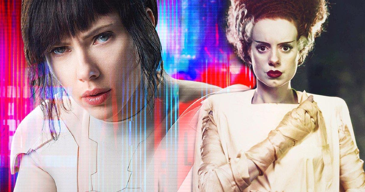 Scarlett Johansson Mettra Un Riff Sur Bride Of Frankenstein Pour