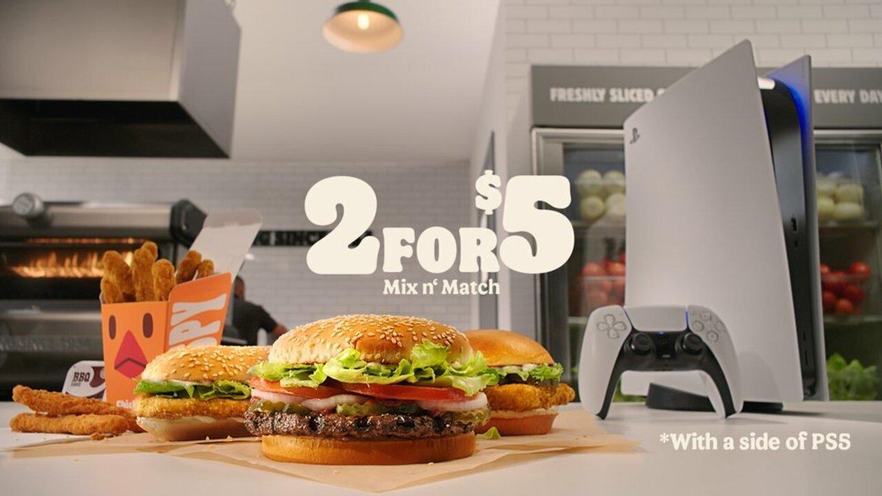 Smash Down Some Burger King Pour Avoir Une Chance De