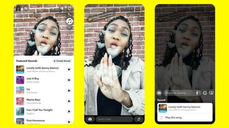 Snapchat Permettra Désormais Aux Utilisateurs Ios D'ajouter De La Musique