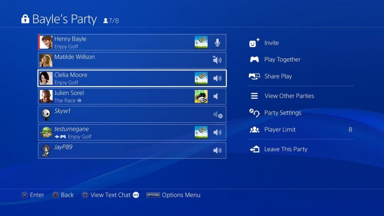 Sony: `` We Do Not Record '' Ps4 Party Chats