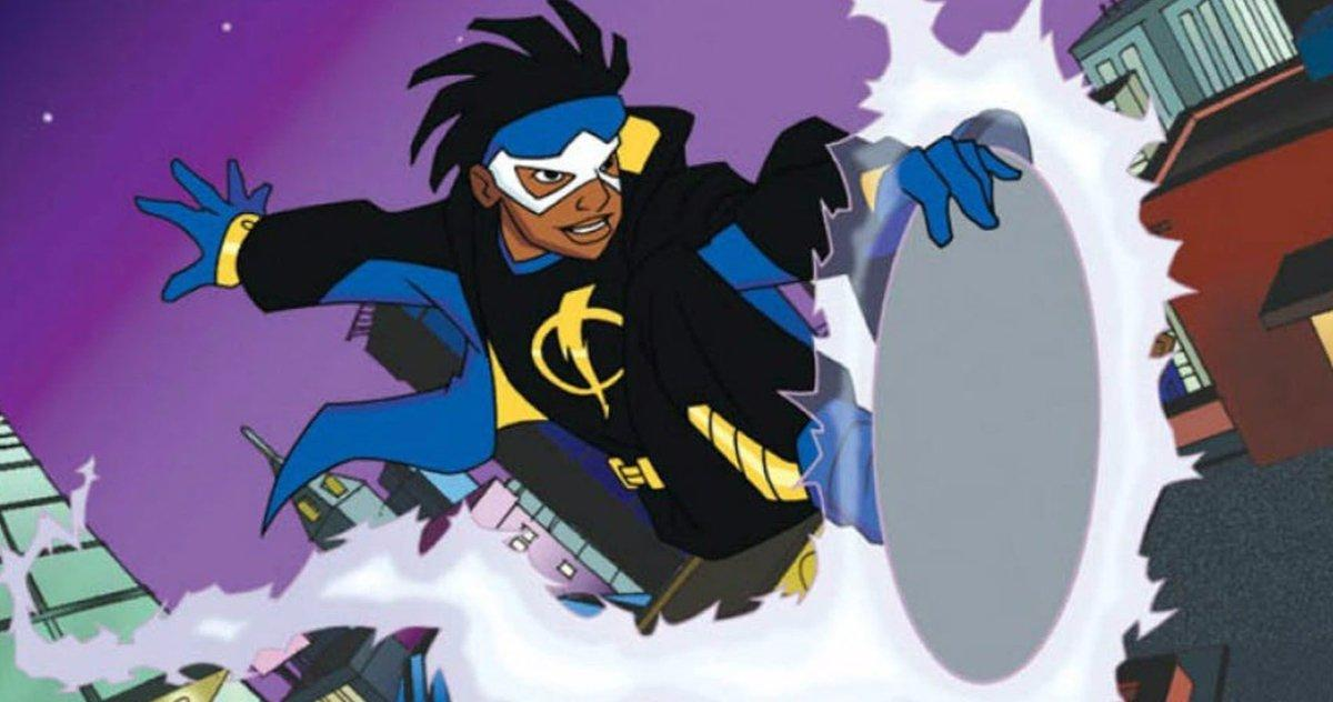 Static Shock Va Construire Un Nouvel Univers Dc Movie, Déclare