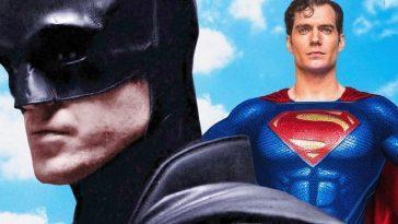 Superman Repéré Sur Le Plateau De Batman, Mais Ce N'est