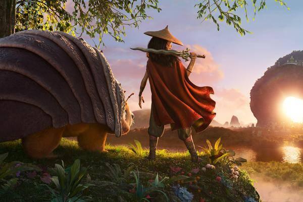 """Sur Les Traces De Mulan? Première Bande Annonce Aussi """"raya Et"""