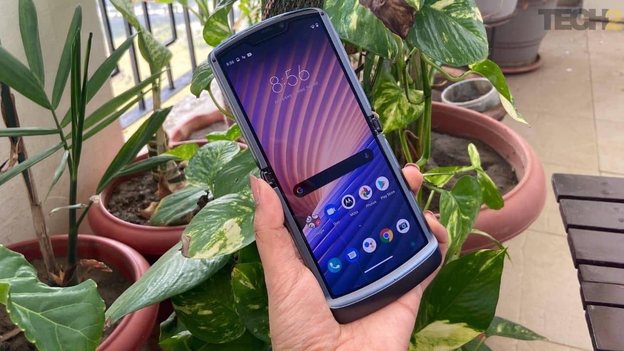 Téléphone à clapet Motorola Razr 5G avec appareil photo 48 MP lancé en Inde à Rs 1,24,999