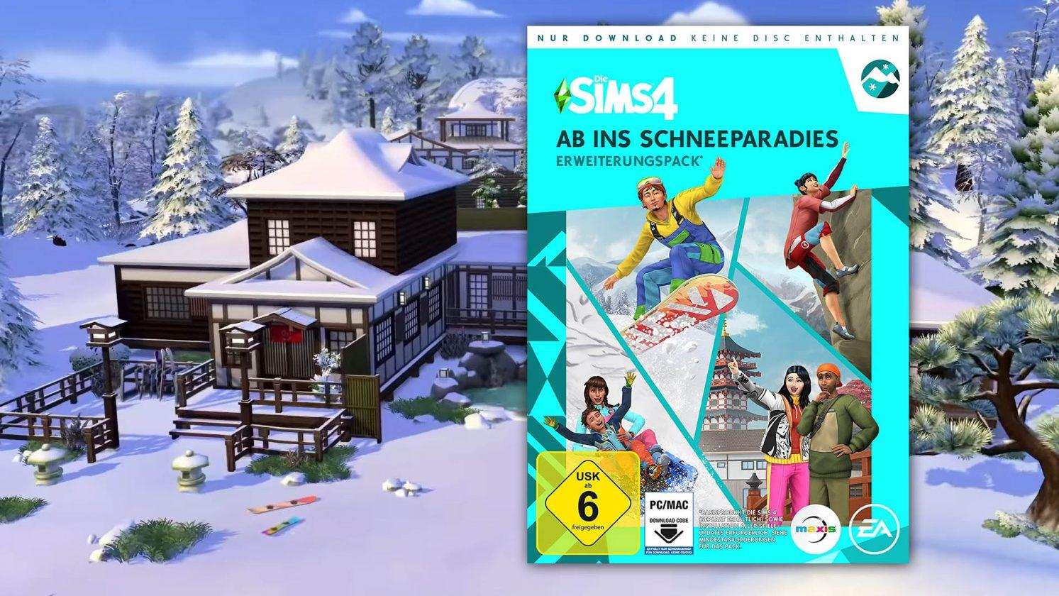The Sims 4: Off To Snow Paradise Précommandez Maintenant, Uniquement