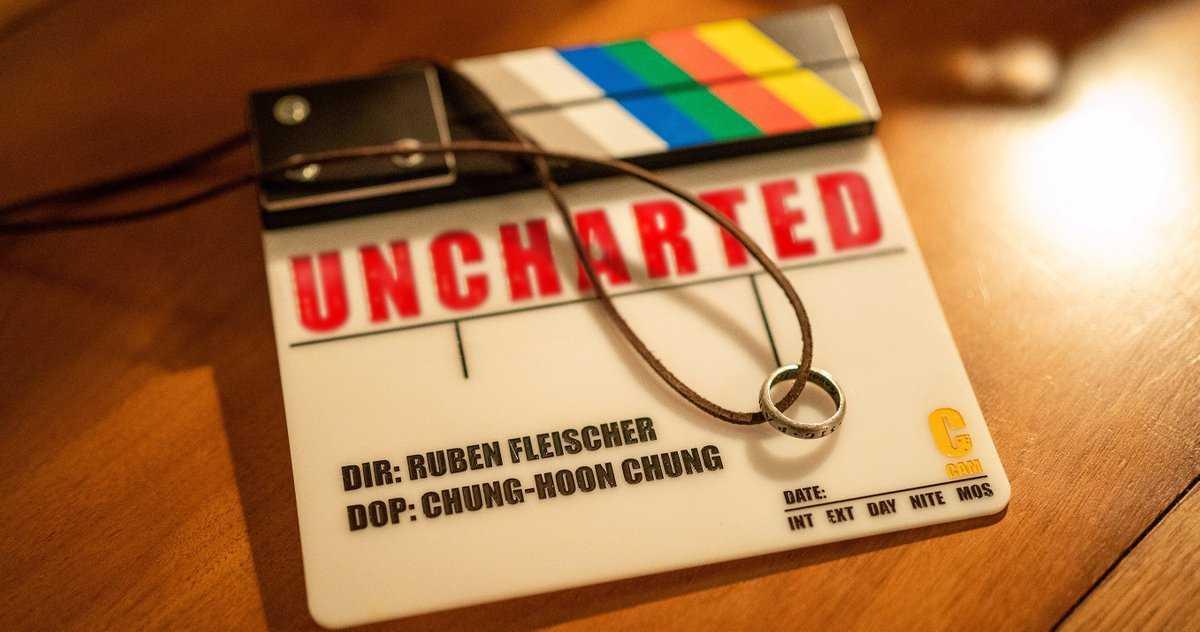 Uncharted Movie Termine La Production Alors Que La Photo Finale
