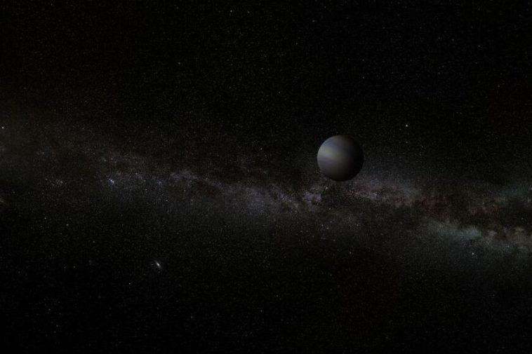 Une planète de la taille de la Terre flotte dans la Voie lactée sans étoiles en orbite