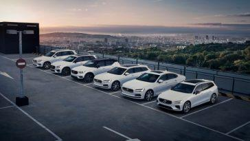 Volvo Renouvelle Sa Flotte D'employés Avec Des Véhicules électrifiés