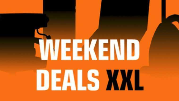 Weekend Deals Xxl A Commencé à Saturne: Seulement Pour Une