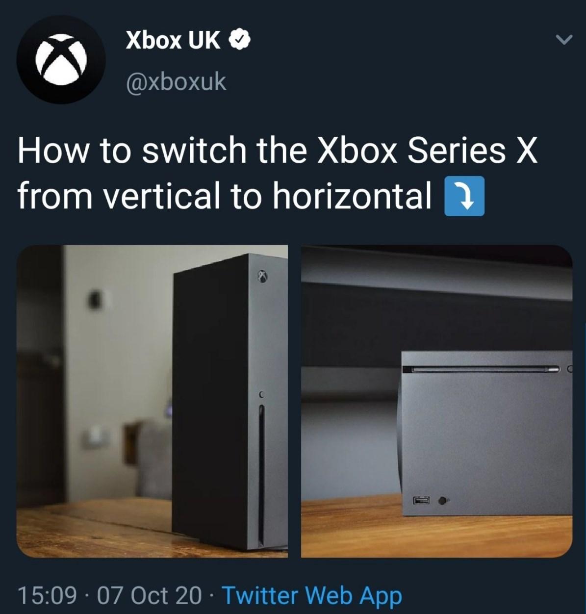 Je plaisante sur Xbox Series X