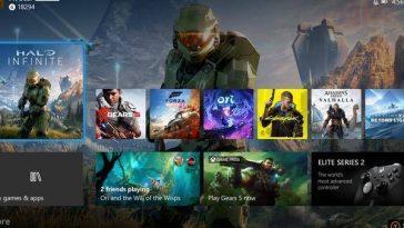 Xbox Series X: Le Tableau De Bord Est Satisfait De