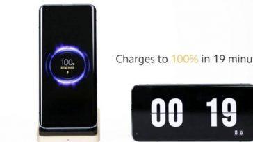 Xiaomi Introduit La Charge Sans Fil Rapide Avec 80 Watts