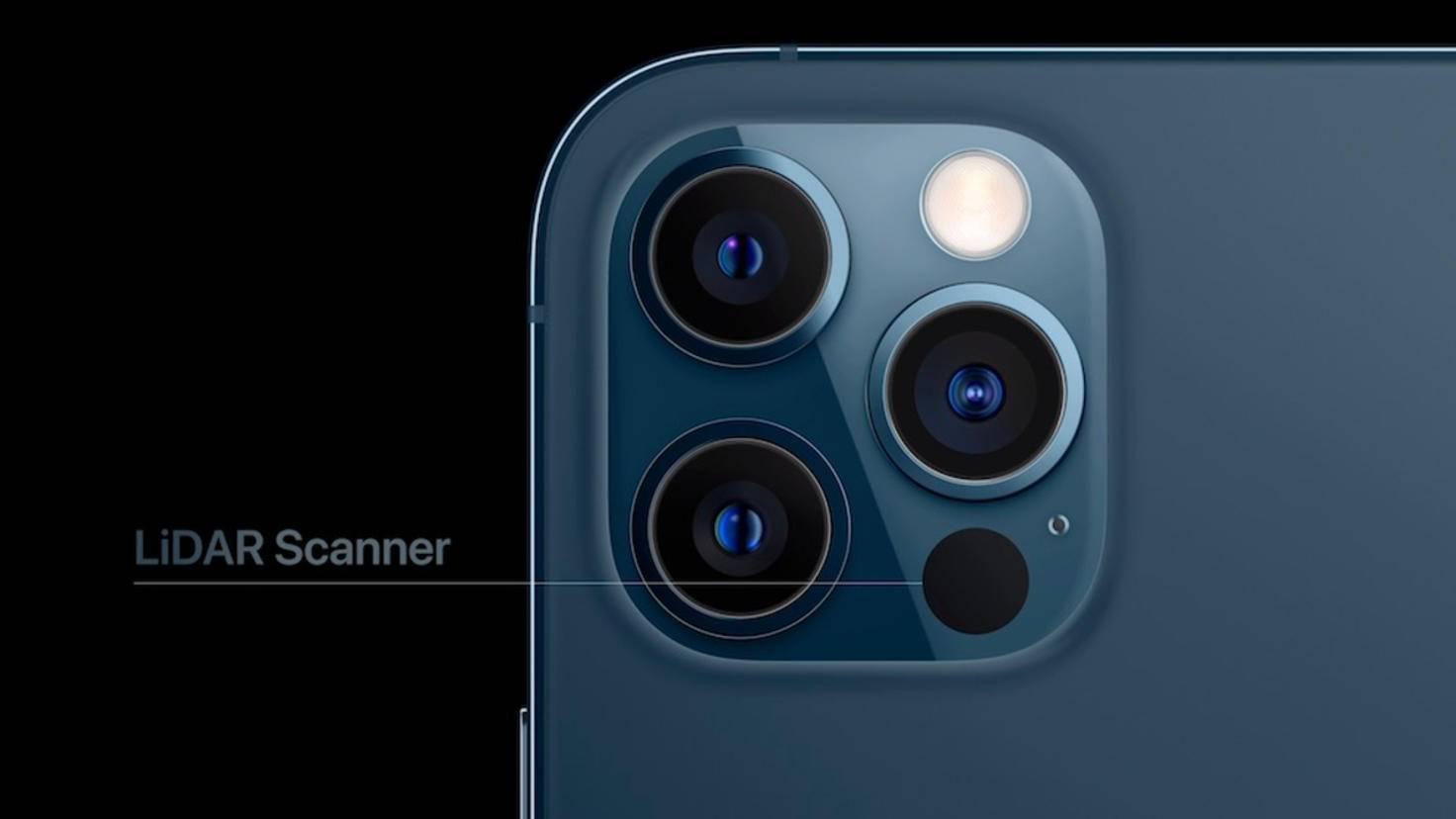 iPhone 12 Pro avec scanner LiDAR