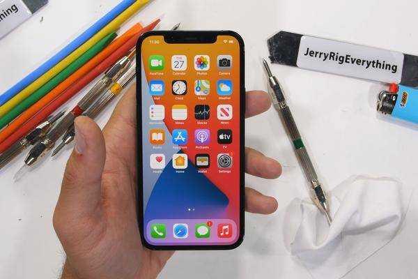 Iphone 12 Pro: Selon Le Test, Aussi Sensible Aux Rayures