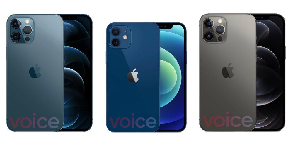 Iphone 12 And 12 Pro Colors Couleurs