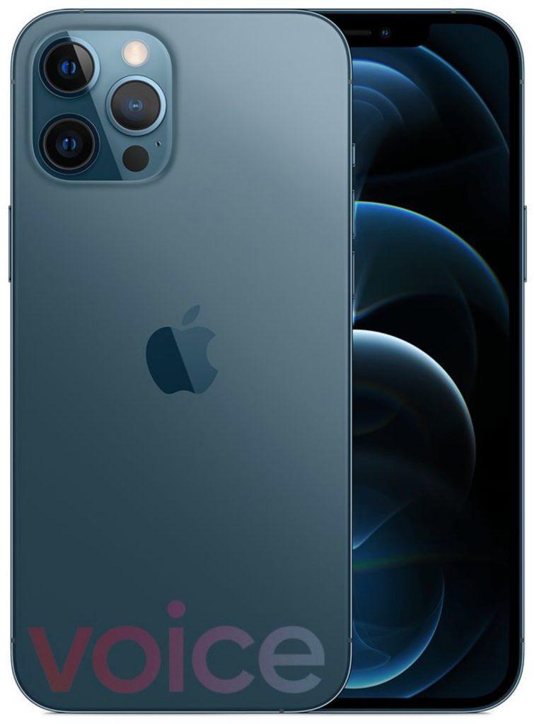 Iphone 12 Bleu Clair