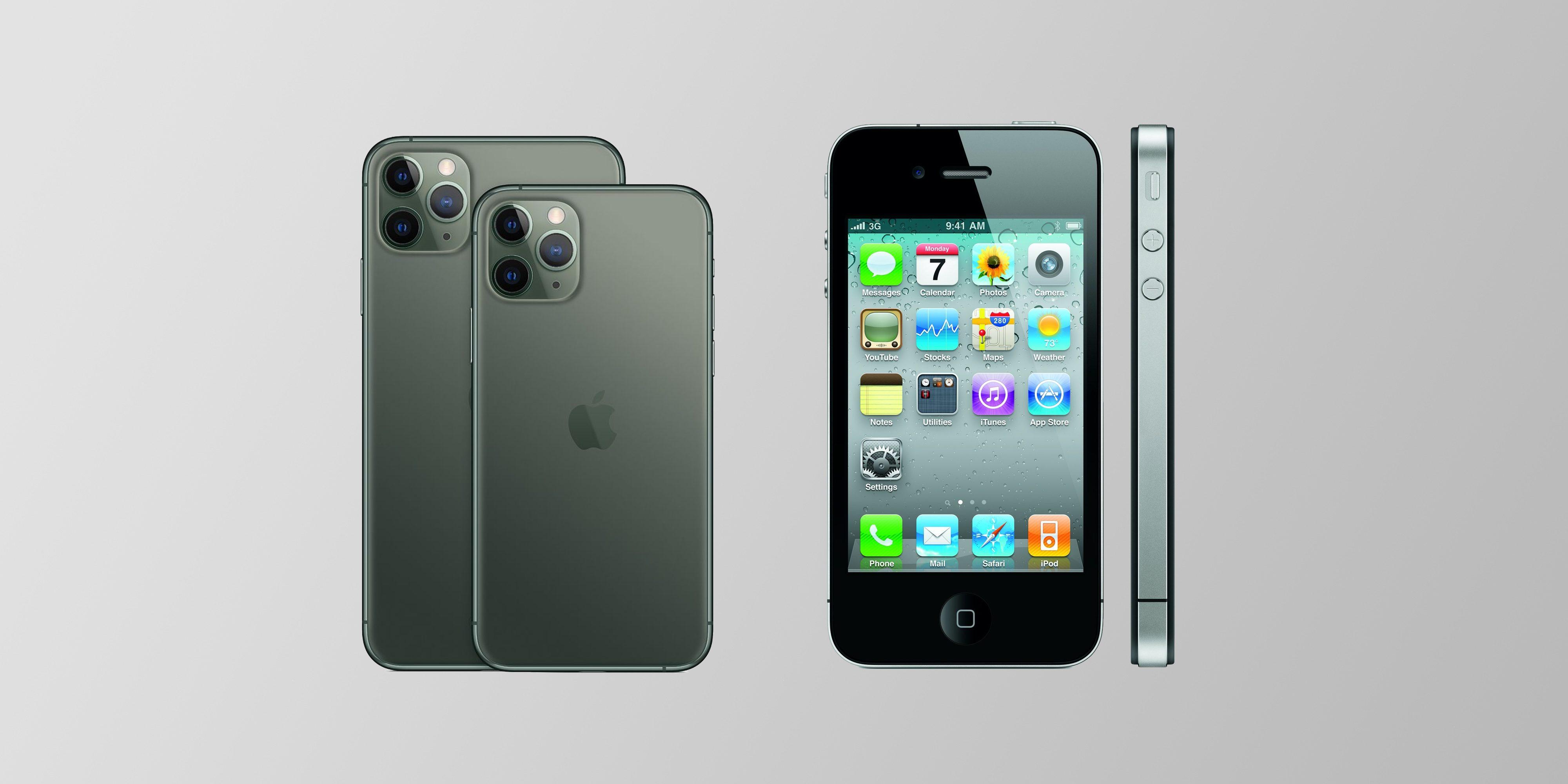 Iphone 12 Iphone 4 Design
