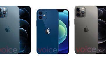 Iphone 12 Pro Colors Couleurs